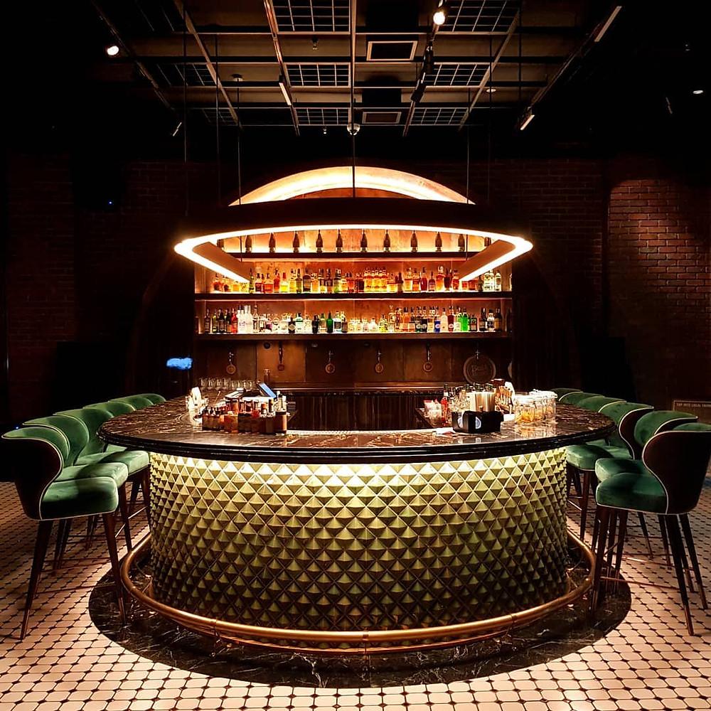 event barcelona led lights bar