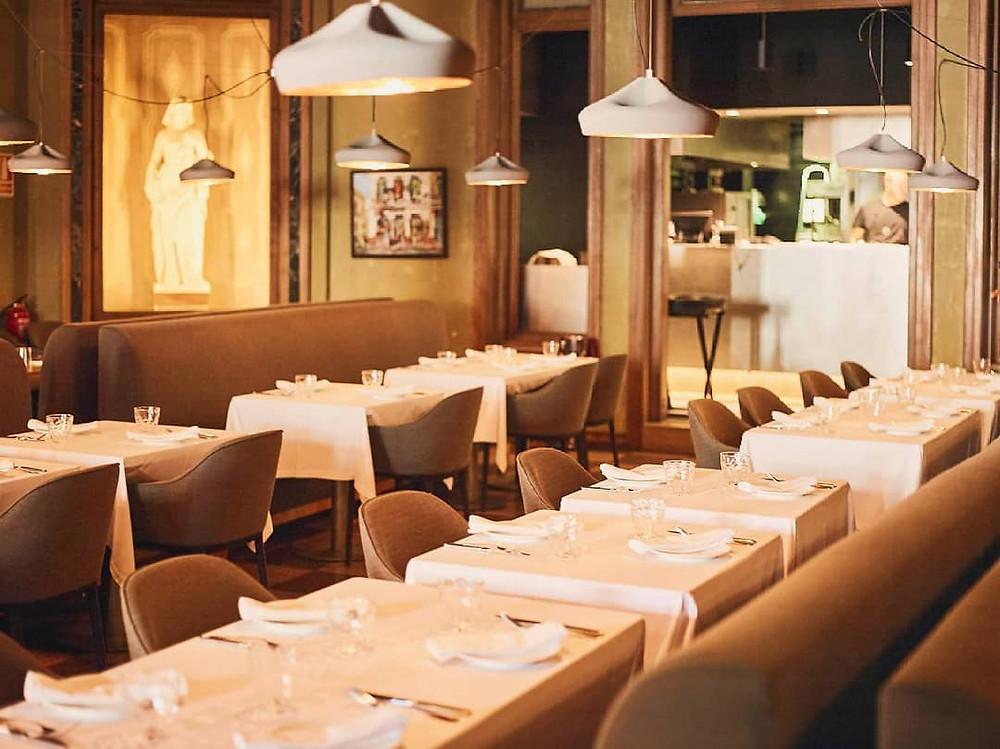 restaurant event venue barcelona dining room