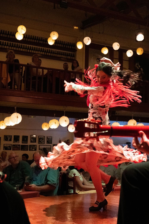 event barcelona corporate dinner flamenko dance