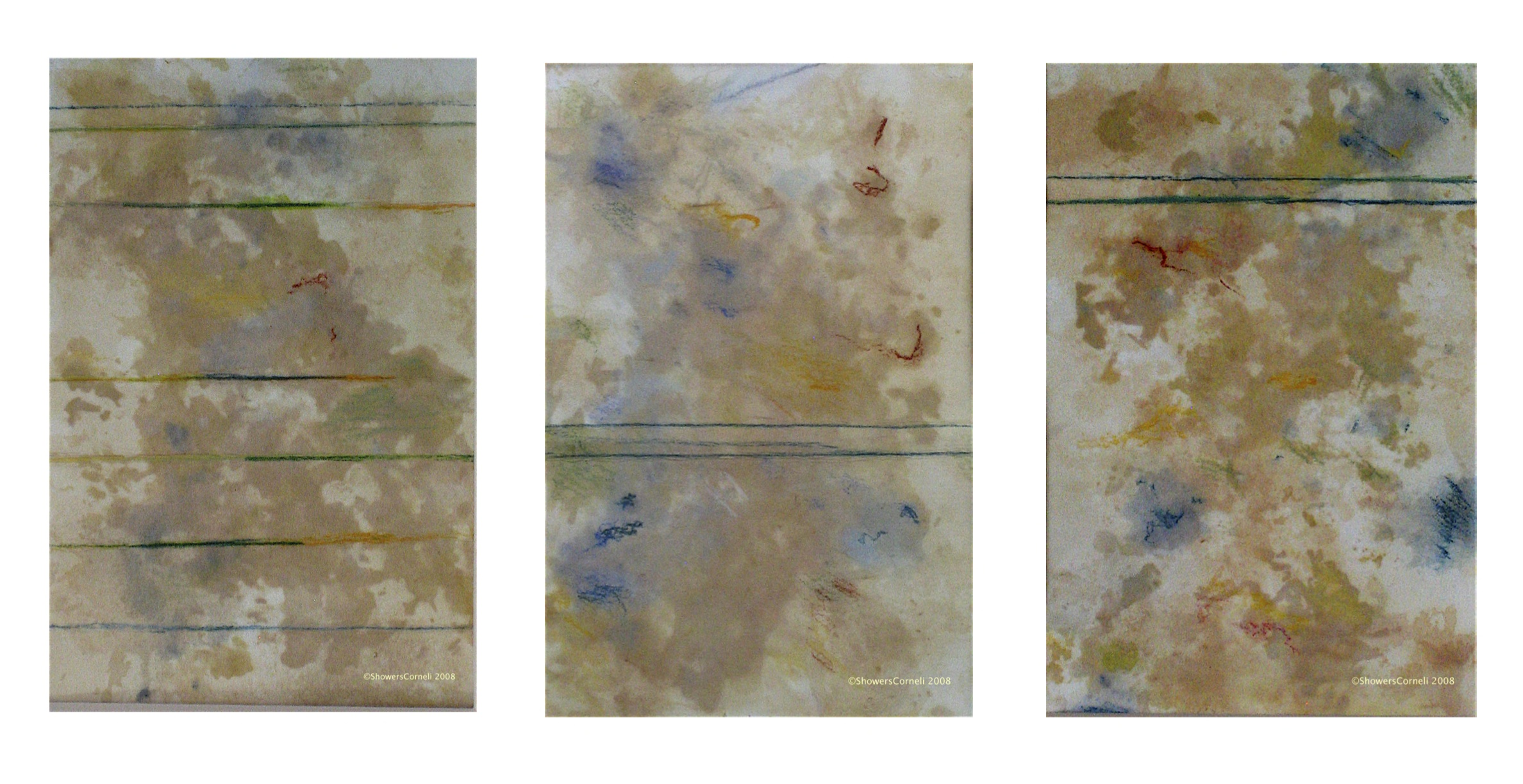 Oolong triptych