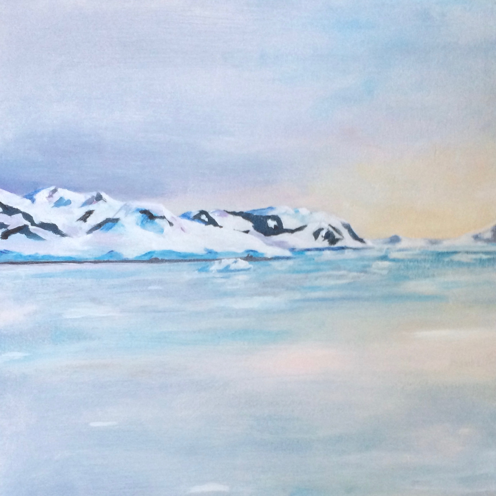 Antarctic Diptych left (Olivia)