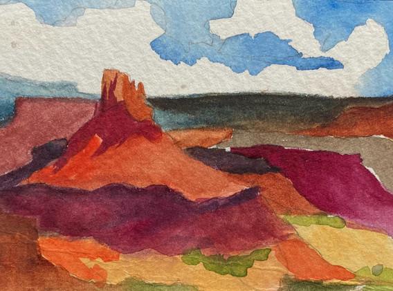 Elaterite Butte. Canyonlands