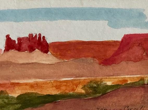 Tiny Canyon Lands