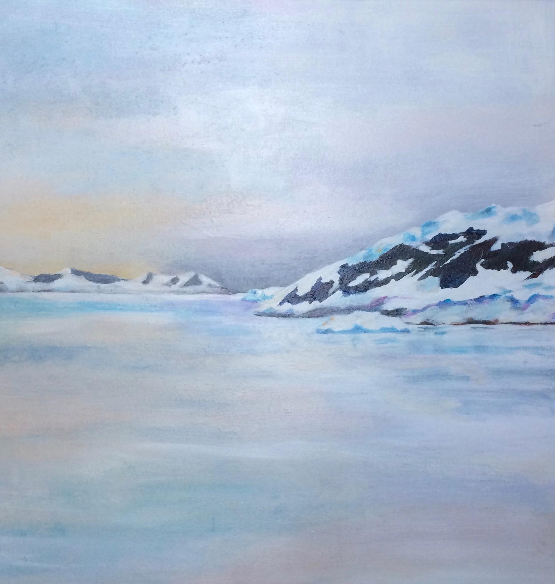 Antarctic Diptych (Olivia)