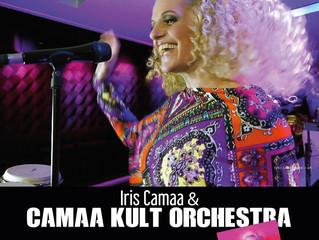 Iris Camaa & Camaa Kult Orchester beim Altstadtzauber Klagenfurt 11.8.2017 22:00