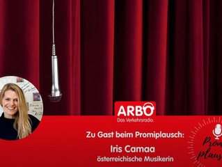 Iris Camaa im Promiplausch by ARBÖ Verkehrsradio
