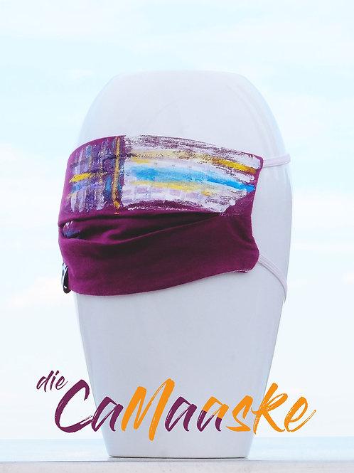 die CaMaaske: Fan Fashion Mund-Nasenschutz