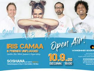 10.9.2020 Iris Camaa & Friends same address but OPEN AIR!