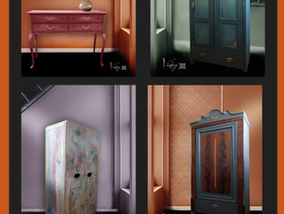 Vintage Furniture Facelift by camaa - NEW!