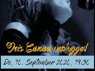 Do, 10.9.2020 IRIS CAMAA UNPLUGGED AT SOSHANA ART DEPOT