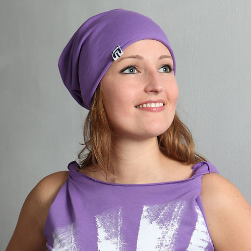 Iris Camaa fan CAP purple