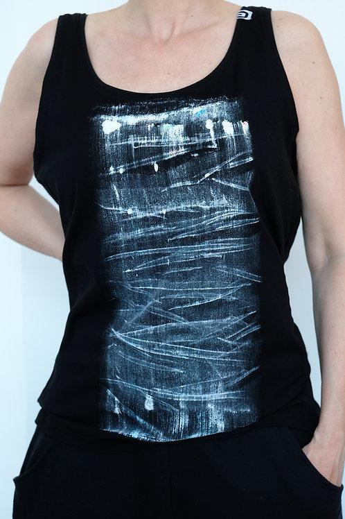 Tank Top / Shirt black stripe