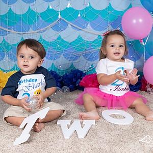 Wisniewski Twins 2nd Birthday!