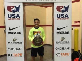 Coach David Yi Wins National Free-style Wrestling Tournament