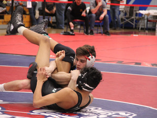 Martinoni earns fifth-place at state wrestling tournament