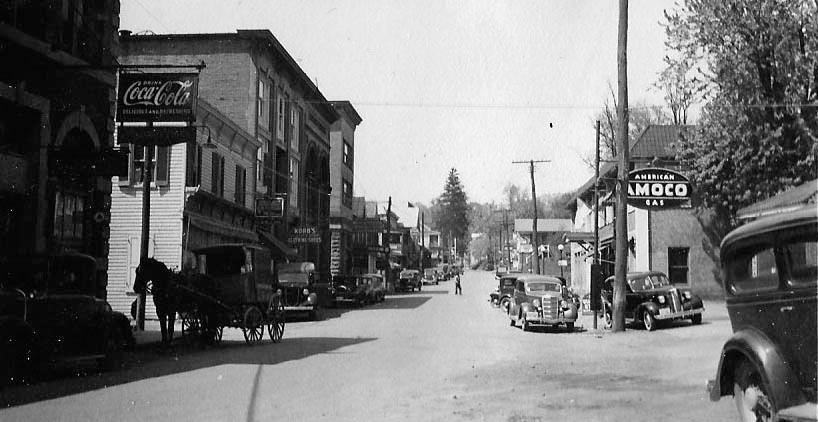 Main Street Heading North - 1937