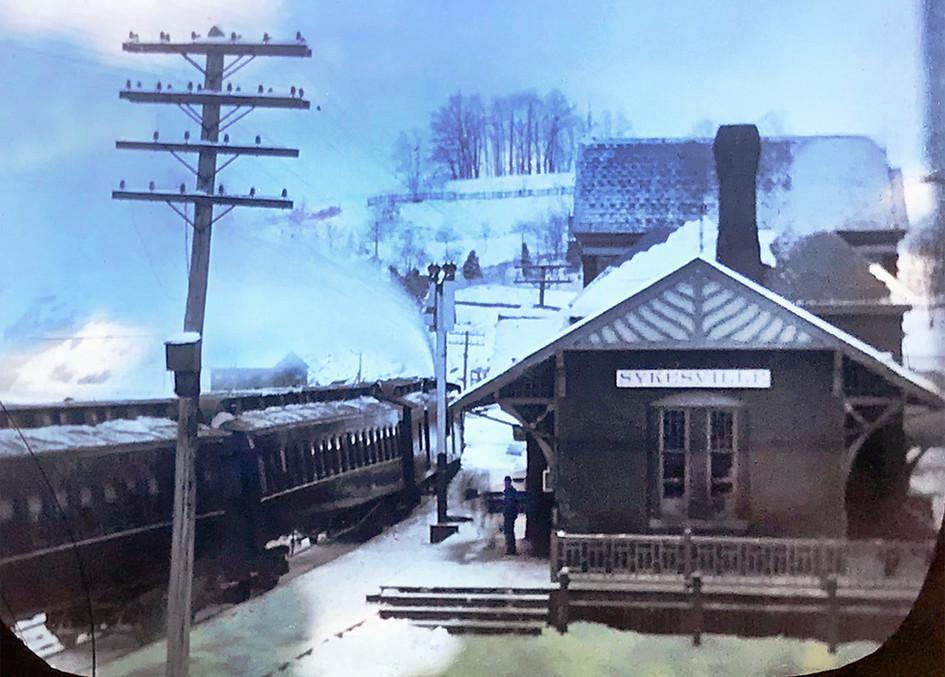 Train Station, circa 1911