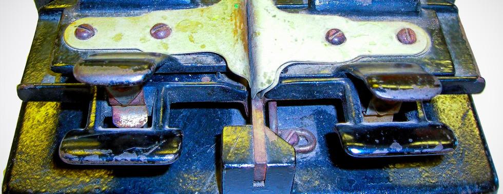 Old Film Splicer