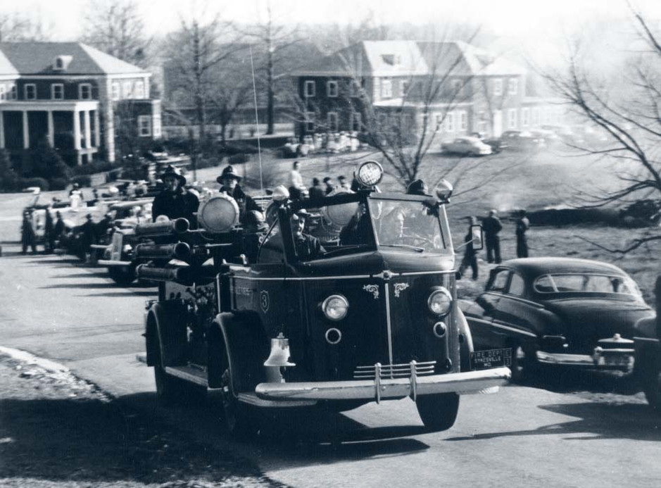 Fire Engines Leaving Springfield