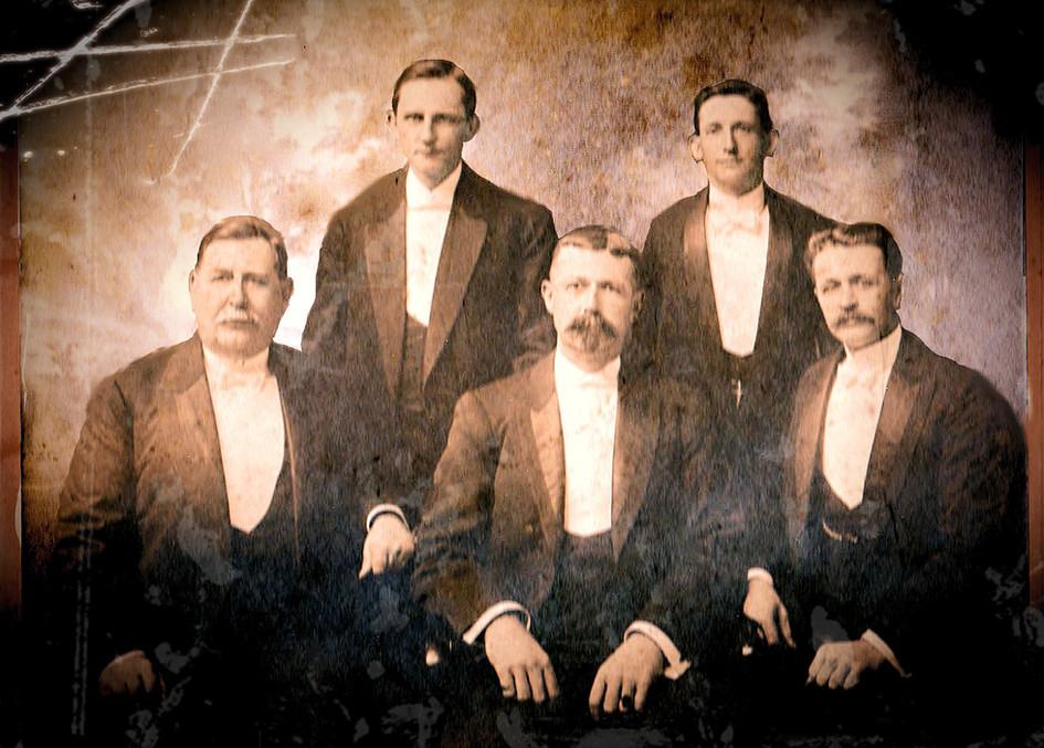 E. Frank Ely - 2nd from left