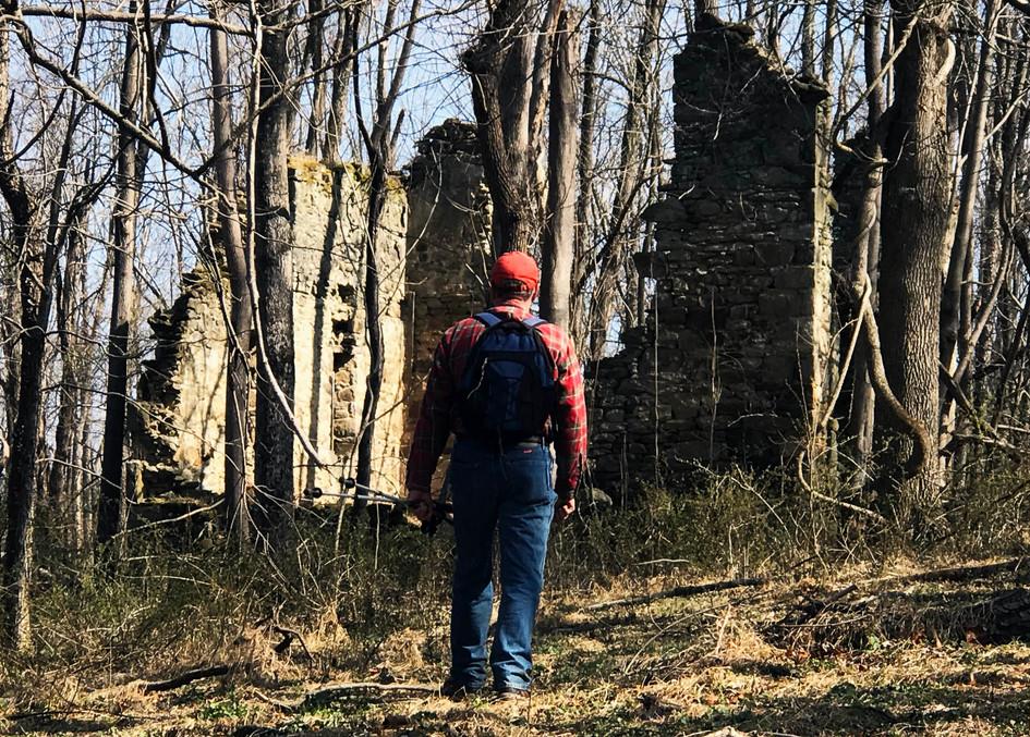 Ruins of Warfield College, 2019