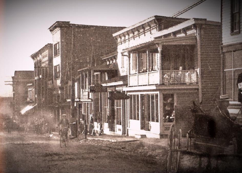 Main Street before Cars