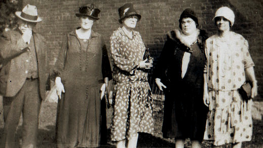 In the Days of Flappers and Suffragettes