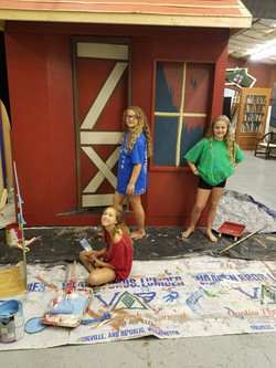 Set Design, Ugly Ducklin, Childrens Thea