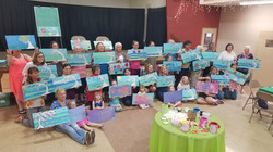 Paint party for mothers day