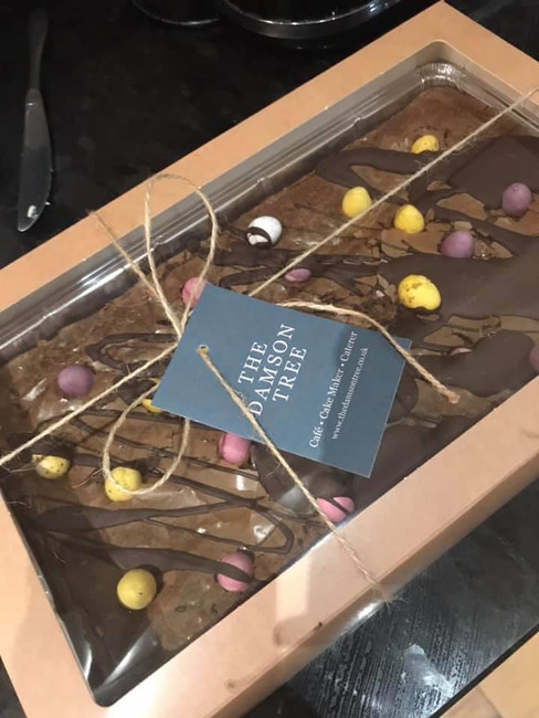 Mini Egg Chocolate Tray Bake