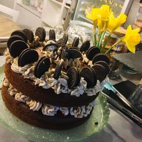 Celebration Cake - Oreos