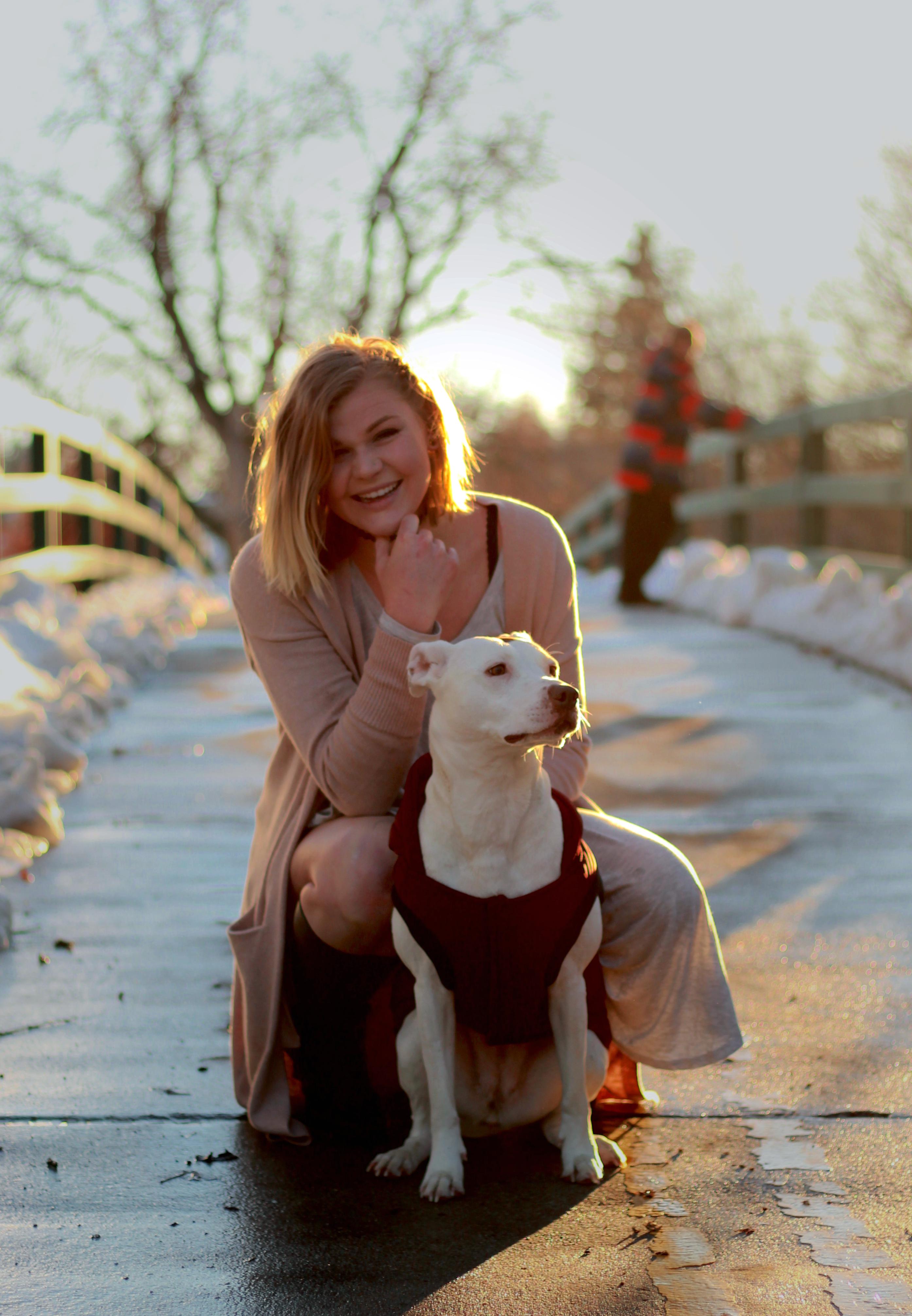 Amy + Koda