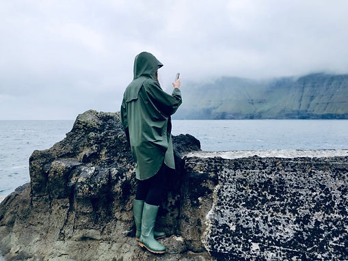 Taking a Photo in the Faroe Islands 2018