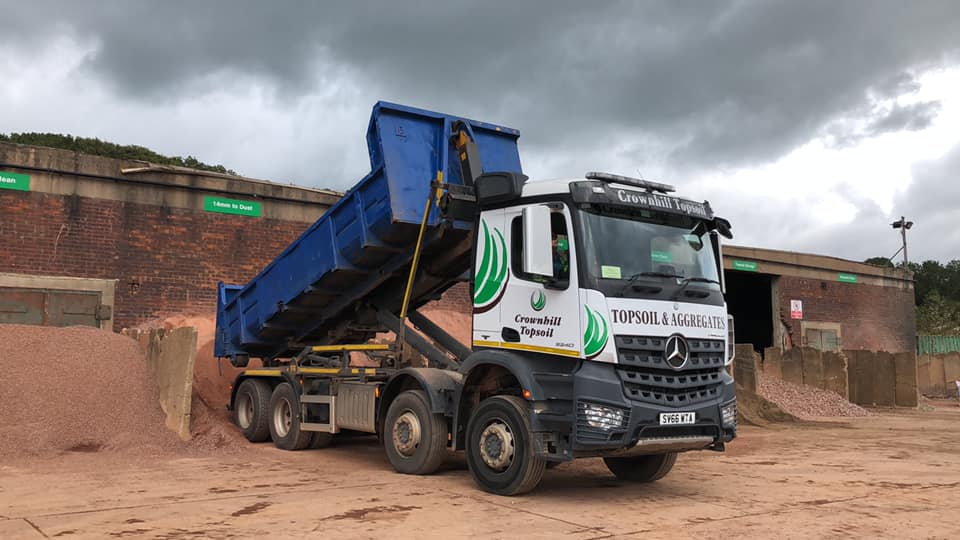 Crownhill Delivery lorries
