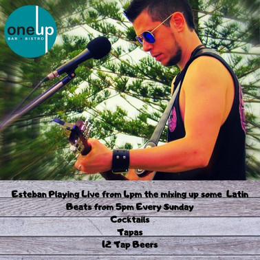 Estaban Live Every Sunday From 5pm! (3).