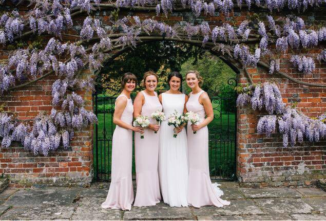 clare and bridesmaids