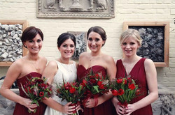 Charlotte and bridesmaids