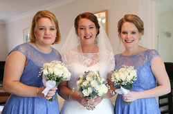 Alex and bridesmaids