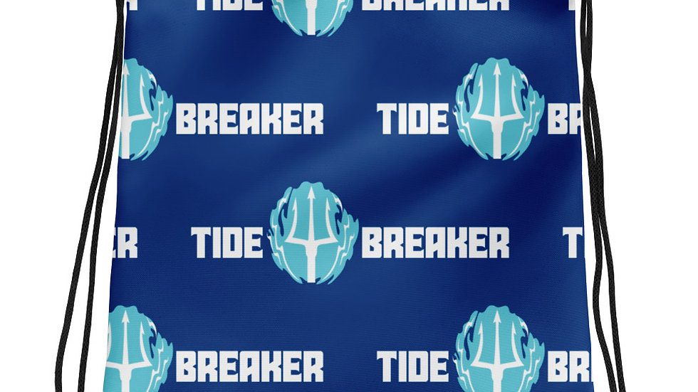 Tide Breaker Drawstring bag