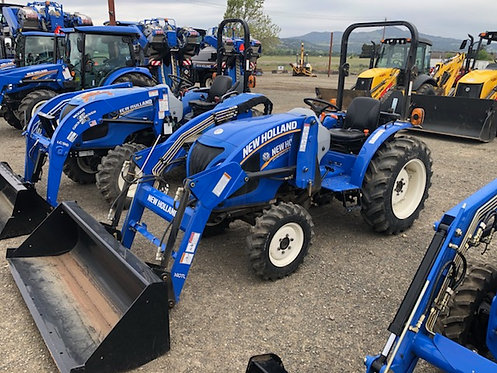 New Holland Workmaster 35 4WD Tractor Loader USED w/ 49 Hours 0% loan!