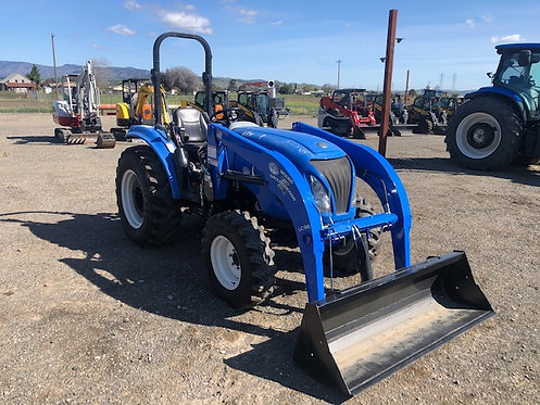 Used Boomer 47 Tractor w/ Woods Loader 865 hrs