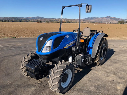 New Holland T4.80F 4WD ROPS Used Tractor 967 Hours 74 HP