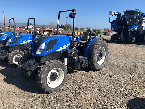 2017 New Holland T4.80F ROPS Tractor 592 Hrs R1 Tires Great Deal!!