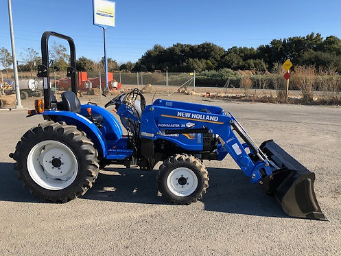 Workmaster 25 4WD Tractor Loader used w/ 188 hrs 24 HP