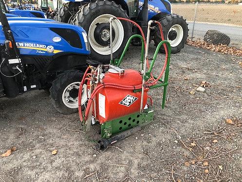 Used Rears PK50 3-Point PTO Sprayer 50 Gallon W/ Trellis Boom, Hose & Gun