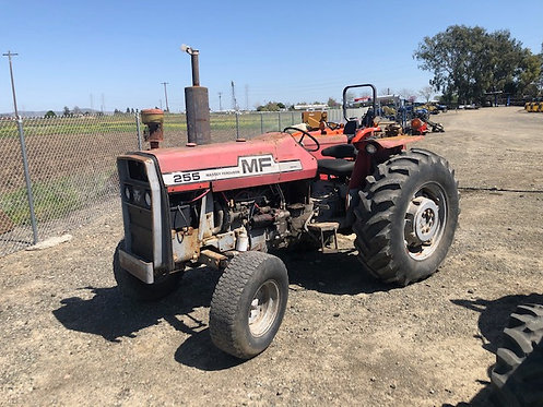1977 Massey Ferguson 255 ROPS Tractor 62 HP 4K hours Runs Great!