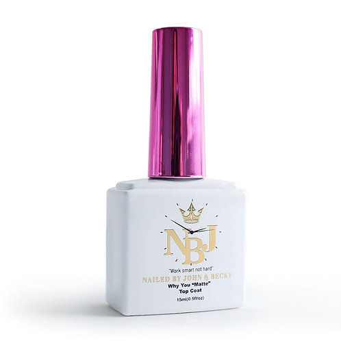 High quality matte top coat (why you matte?)