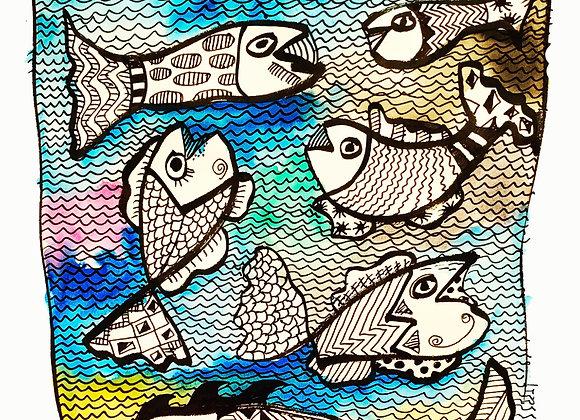 """""""Peces y más peces"""""""