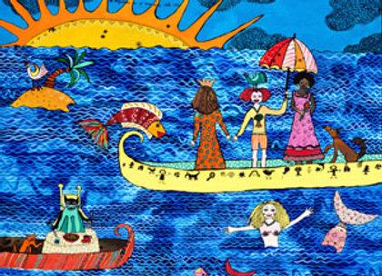 Princesa en un bote''