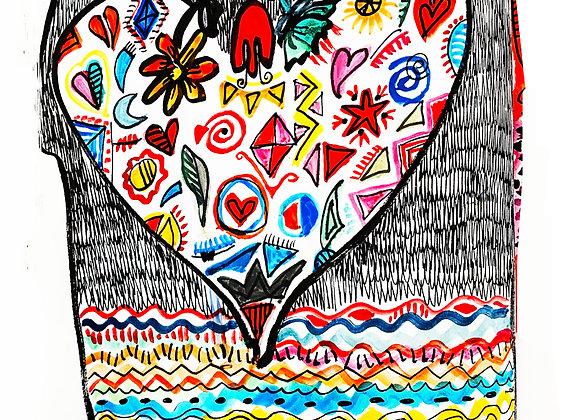 """"""" Cada día hay que llenar el corazón nuevamente"""""""